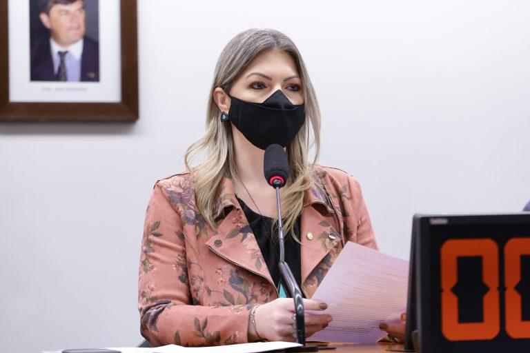 Aline Sleutjes participa de reunião de comissão