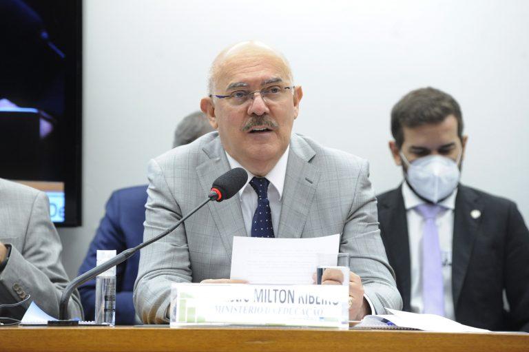 O ministro da Educação Milton Ribeiro