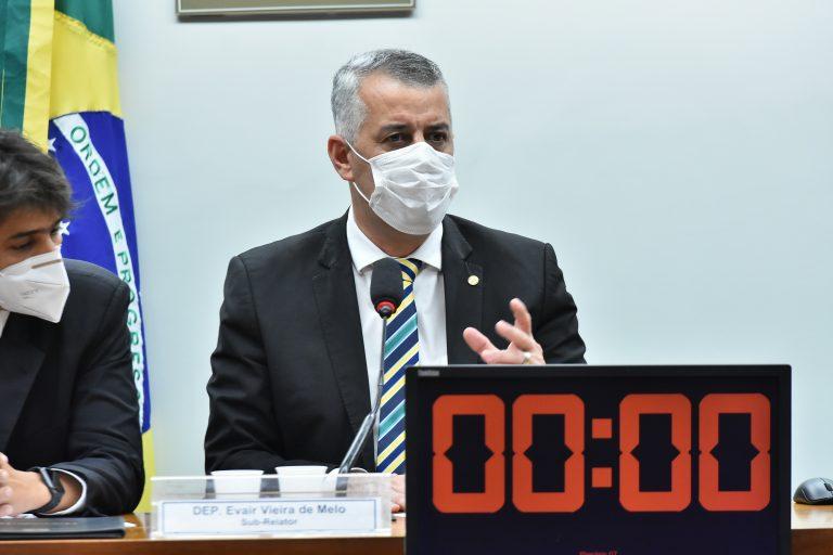 Deputado Evair Vieira de Melo (PP-ES)