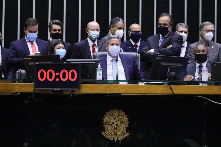 Discussão e votação de propostas. Presidente da Câmara dos Deputados, Arthur Lira