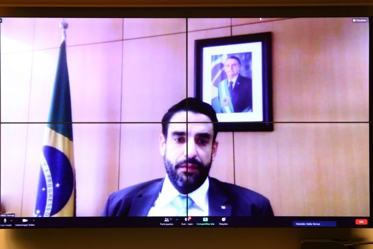 Audiência Pública - Cinemateca. Diretor do Departamento de Políticas Audiovisuais, Hélio Ferraz de Oliveira