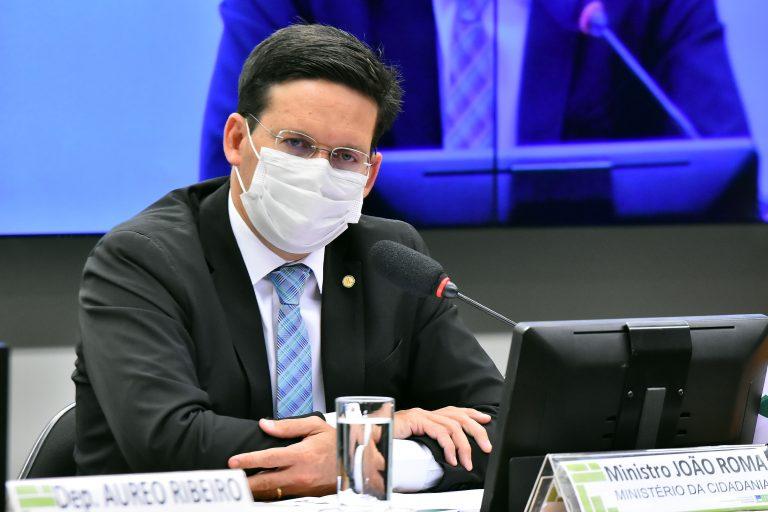 O Ministro da Cidadania, João Roma