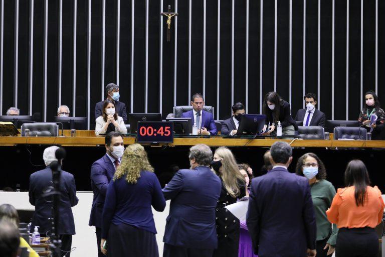 Deliberação de Vetos e Projetos de Lei. Vice-presidente da Câmara, Marcelo Ramos