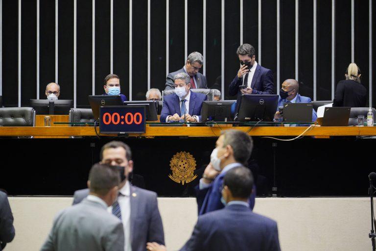 Discussão e votação de propostas. Presidente da Câmara dos Deputados, Arthur Lira.