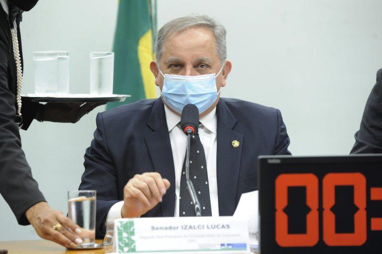 Izalci Lucas defendeu as emendas de bancada para investimentos em obras estruturantes