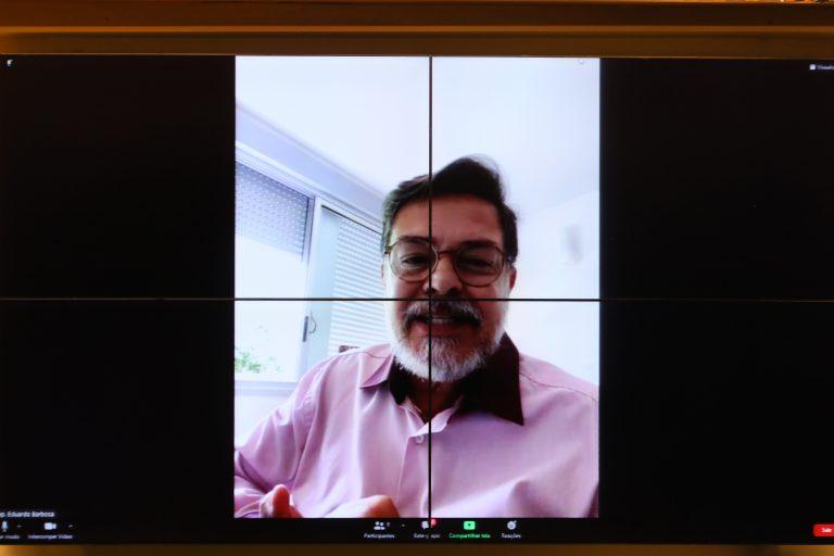 Audiência Pública - Dose de Reforço de Vacinas para Covid-19. Dep. Eduardo BarbosaPSDB - MG