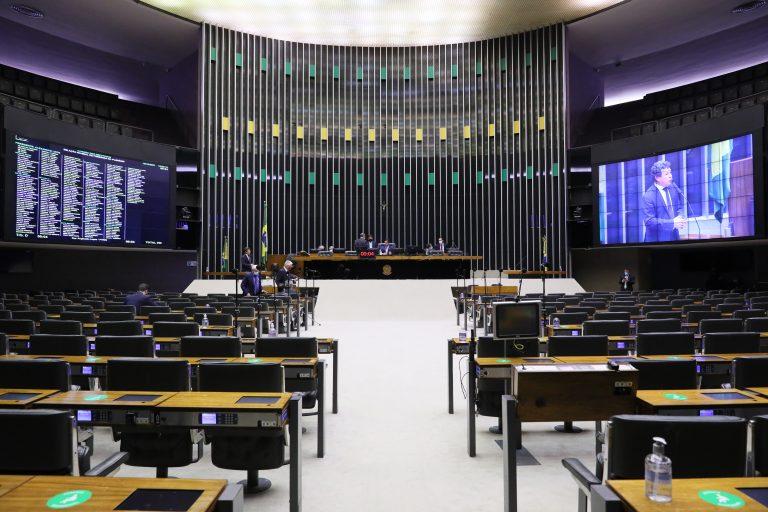 Sessão virtual do Plenário da Câmara dos Deputados
